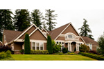 Luxury House Plan Front Photo 05 -  011S-0073   House Plans and More
