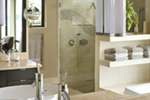 Contemporary House Plan Bathroom Photo 03 - 011S-0085 | House Plans and More