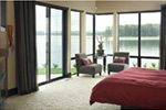 Contemporary House Plan Master Bedroom Photo 02 - 011S-0085 | House Plans and More