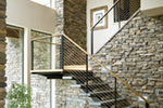 Modern House Plan Stairs Photo - Demarco Luxury Prairie Home 011S-0085 | House Plans and More