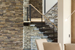 Contemporary House Plan Stairs Photo 01 - 011S-0085 | House Plans and More