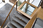 Contemporary House Plan Stairs Photo 02 - 011S-0085 | House Plans and More