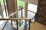Contemporary House Plan Stairs Photo 03 - 011S-0085 | House Plans and More