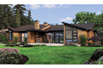 Waterfront House Plan Rear Photo 01 - 011S-0101 | House Plans and More