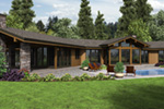 Lake House Plan Rear Photo 01 - 011S-0108 | House Plans and More