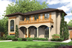 Florida House Plan Front of Home - 011S-0136 | House Plans and More