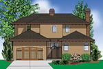 Sunbelt Home Plan Rear Photo 02 - 011S-0136 | House Plans and More