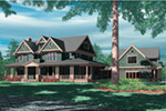 Shingle House Plan Front Image - 011S-0155 | House Plans and More