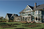 Shingle House Plan Rear Photo 05 - 011S-0155 | House Plans and More