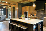 Shingle House Plan Kitchen Photo 01 - 011S-0184 | House Plans and More