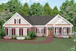 Ranch House Plan Front Image - 013D-0015 | House Plans and More