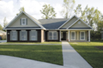 Craftsman House Plan Front Photo 01 - 013D-0015 | House Plans and More