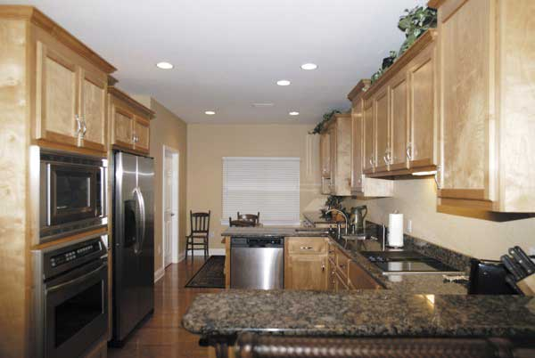 Ranch House Plan Kitchen Photo 03 013D-0015