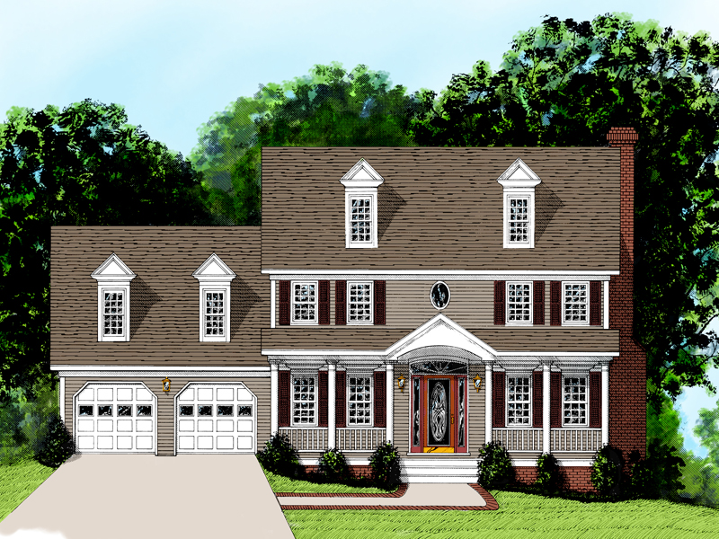 Perfect Two-Story Traditional Home