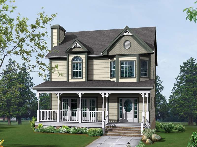 Country House Plan Front of Home - 013D-0020 | House Plans and More