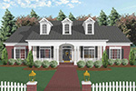 Ranch House Plan Front Image - 013D-0022 | House Plans and More