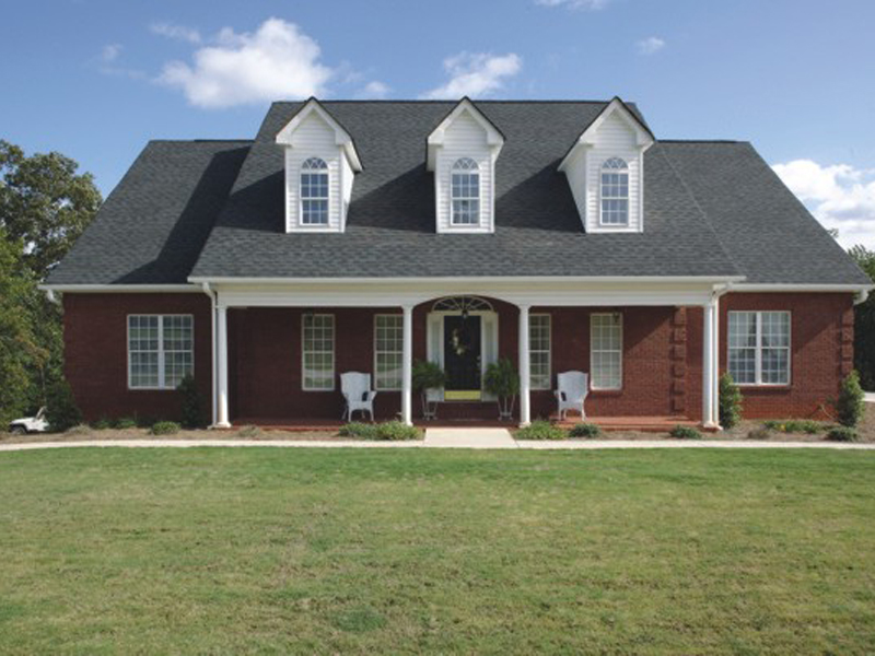 Ranch House Plan Front Photo 02 013D-0022