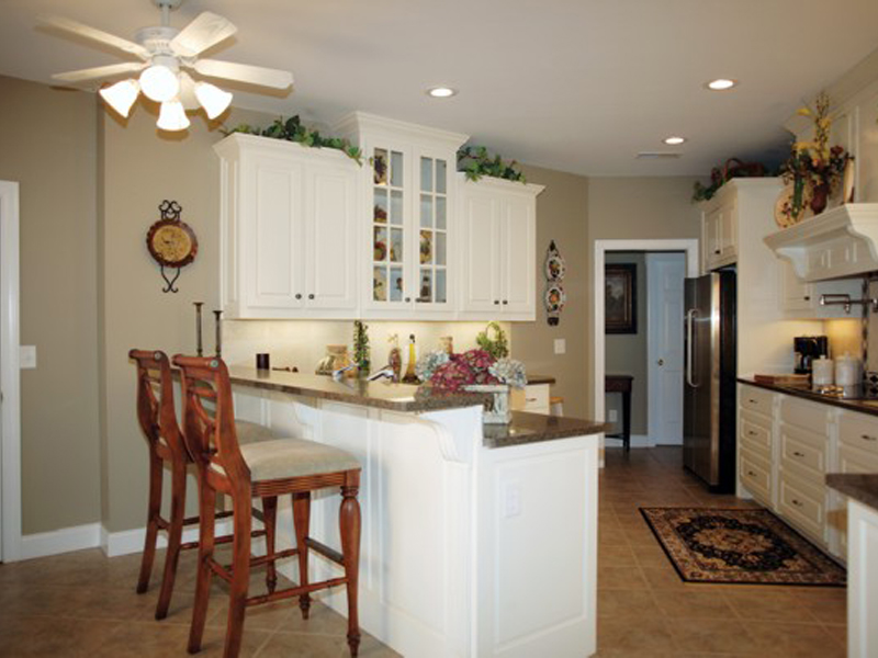 Acadian House Plan Kitchen Photo 01 - 013D-0022 | House Plans and More