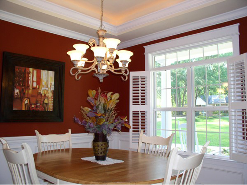Ranch House Plan Dining Room Photo 01 013D-0025