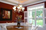 Traditional House Plan Dining Room Photo 01 - 013D-0025 | House Plans and More