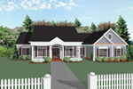 Traditional House Plan Front Image - 013D-0025 | House Plans and More