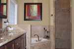Southern House Plan Master Bathroom Photo 01 - 013D-0025 | House Plans and More