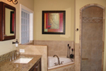 Southern House Plan Master Bathroom Photo 02 - 013D-0025 | House Plans and More