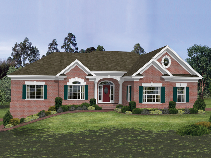 Stately Southern Brick Ranch