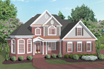 Victorian House Plan Front Image - 013D-0031 | House Plans and More