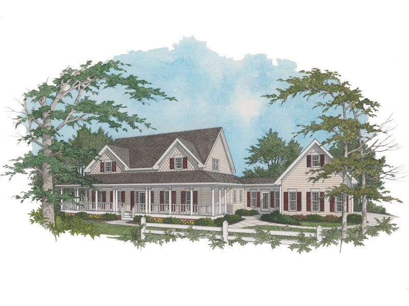 Country House Plan Front Image - 013D-0039 | House Plans and More