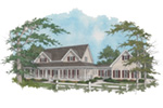 Farmhouse Plan Front Image - 013D-0039 | House Plans and More