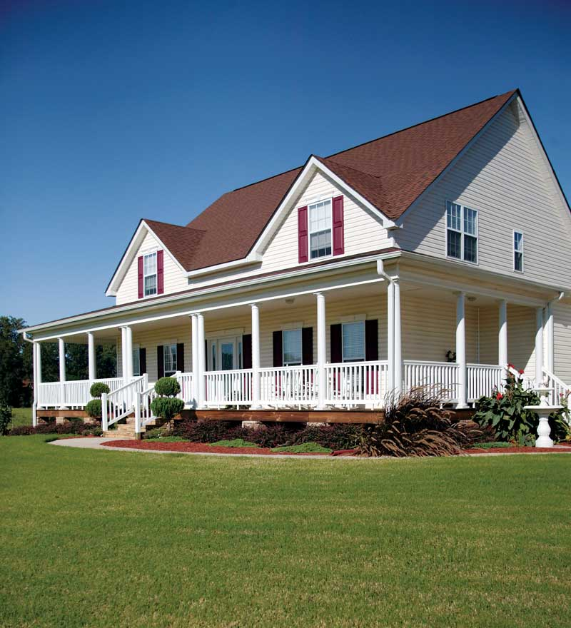Traditional House Plan Front Photo 02 013D-0039