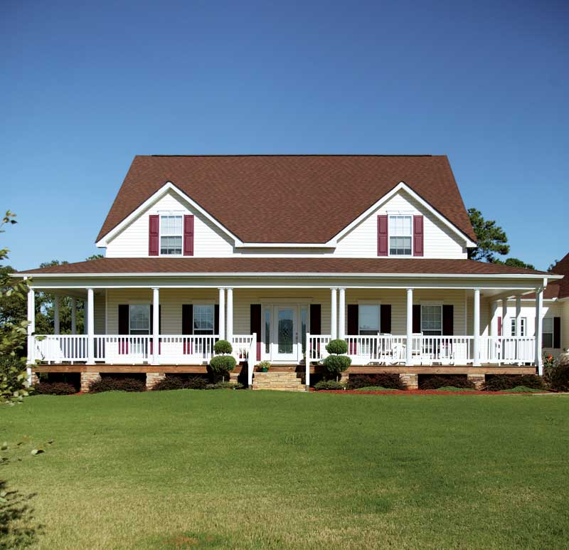 Farmhouse Plan Front Photo 03 - 013D-0039 | House Plans and More