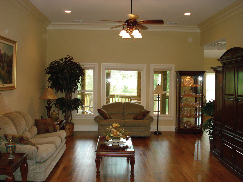 Traditional House Plan Family Room Photo 01 013D-0053