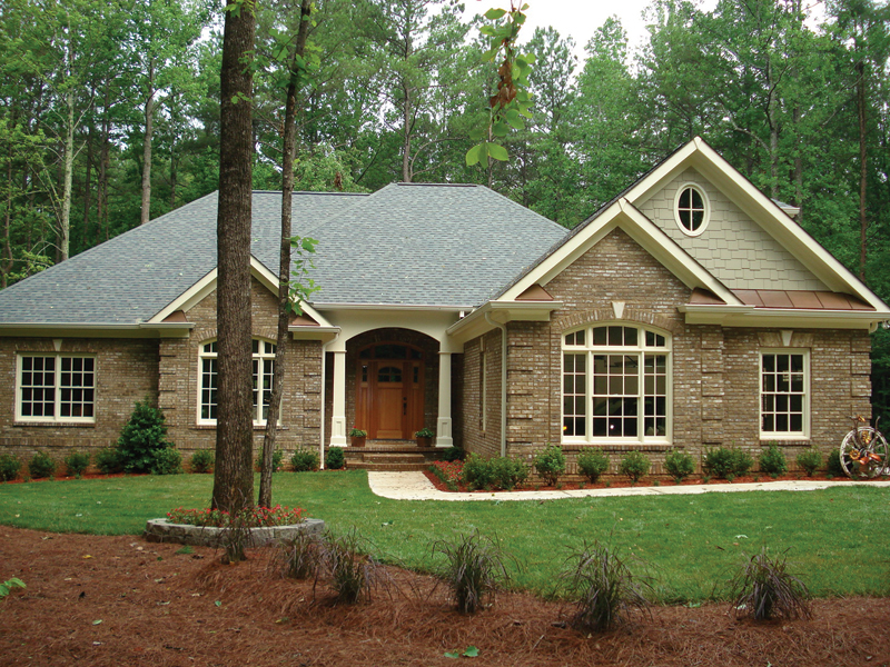Country French Home Plan Front Photo 02 013D-0053