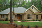 Country French Home Plan Front Photo 02 - 013D-0053 | House Plans and More
