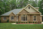 Country French Home Plan Front Photo 03 - 013D-0053 | House Plans and More