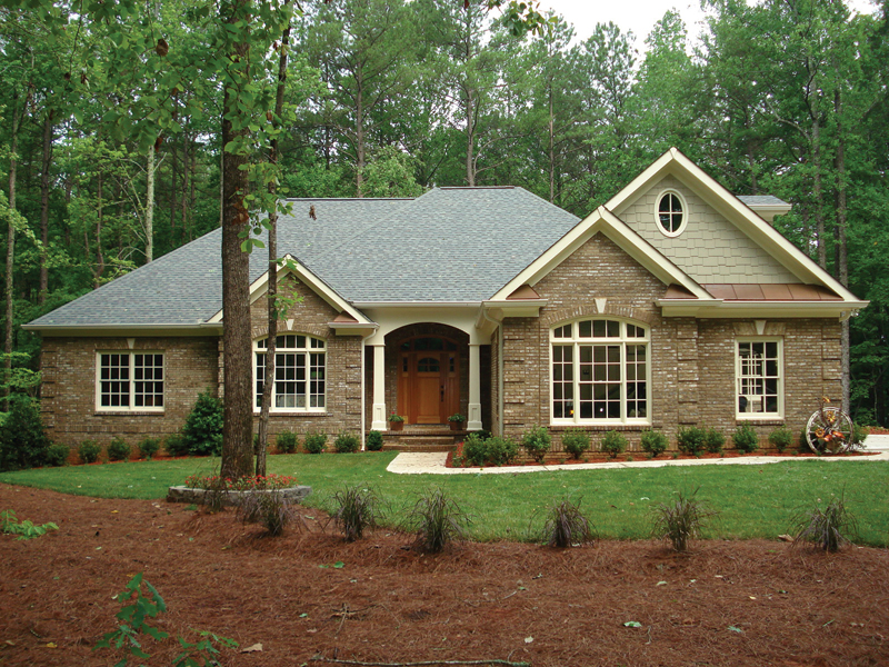 European House Plan Front Photo 04 - 013D-0053 | House Plans and More