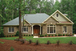 Ranch House Plan Front Photo 04 - 013D-0053 | House Plans and More