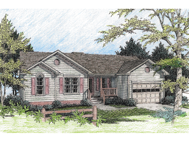Relaxing Cottage Home Plan