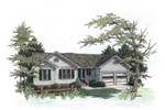 Traditional House Plan Front Image - 013D-0057 | House Plans and More