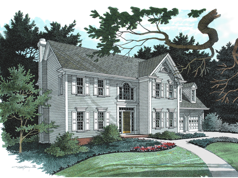 Traditional House Plan Front Image - 013D-0082 | House Plans and More