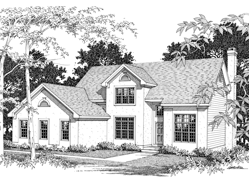 Traditional Two-Story Home