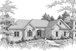 Traditional House Plan Front Image of House - 013D-0100 | House Plans and More
