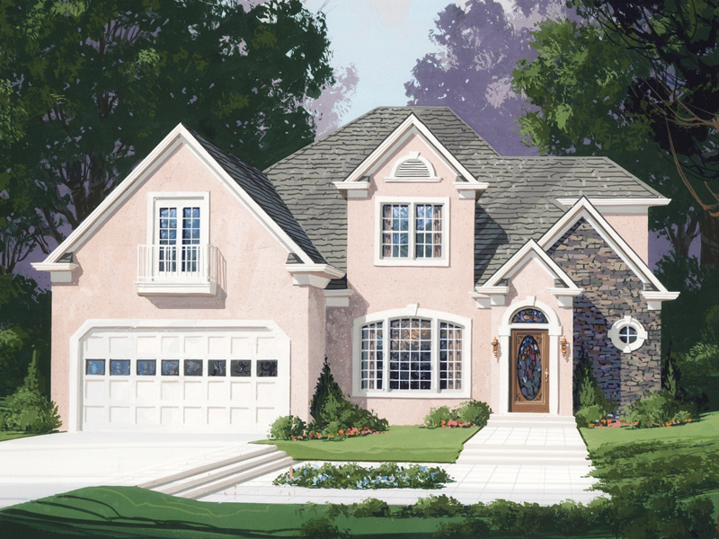 Traditional House Plan Front of Home - 013D-0101 | House Plans and More