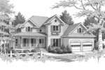 Southern House Plan Front Image of House - 013D-0103 | House Plans and More