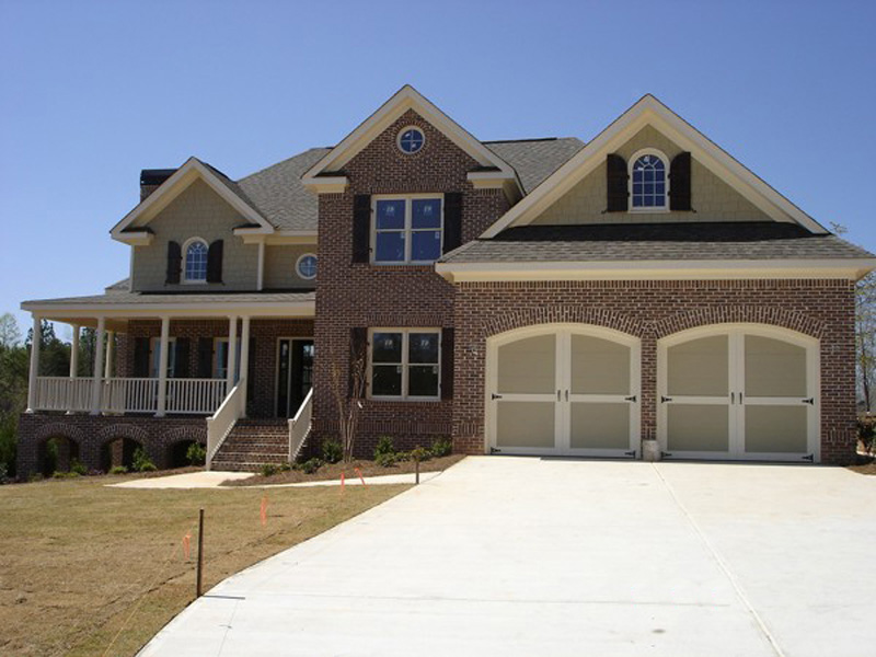 Traditional House Plan Front Photo 02 013D-0103
