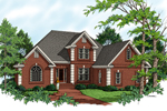 Brick Two-Story Home With Traditional Feel