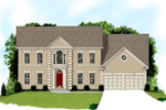 Two-Story Home With Stucco Exterior