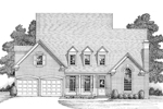Luxury House Plan Front Image of House - 013D-0110 | House Plans and More